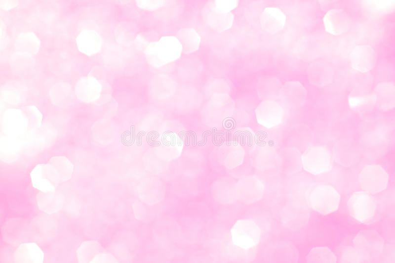 Scintillement rose - fond de jour de Valentines photo libre de droits