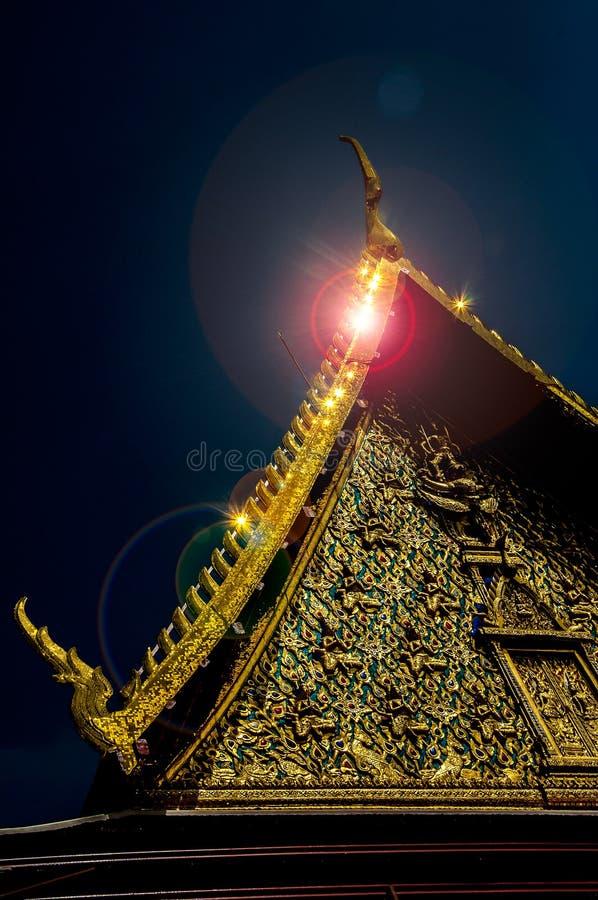 Scintillio del tempio immagini stock libere da diritti