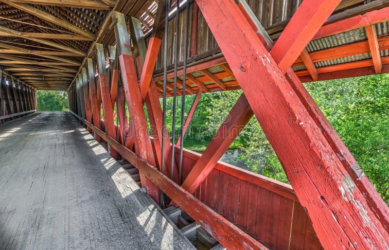Scipio Zakrywał Bridżowego wnętrze zdjęcia royalty free