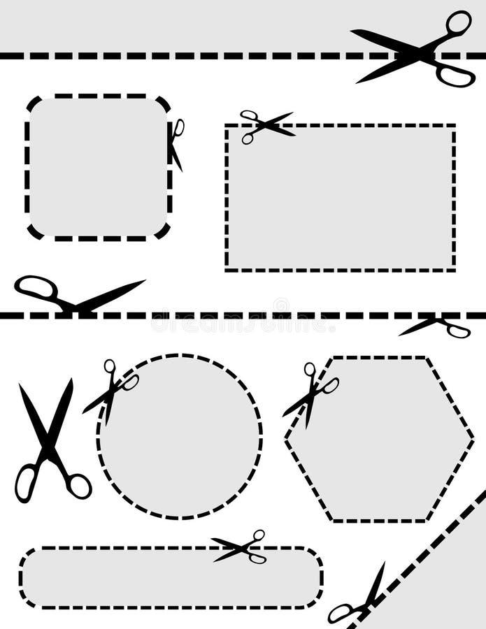 Scissor libre illustration