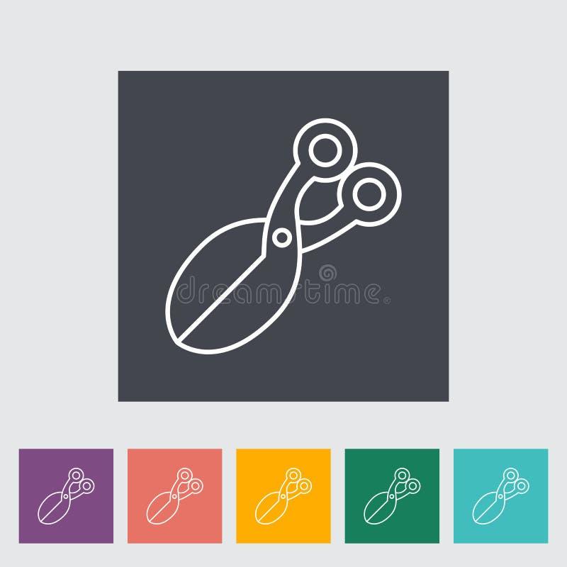Scissors икона бесплатная иллюстрация