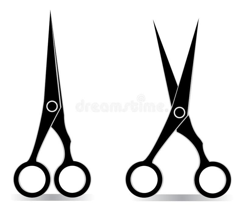 Scissors stock vector. Illustration of hair, design ...