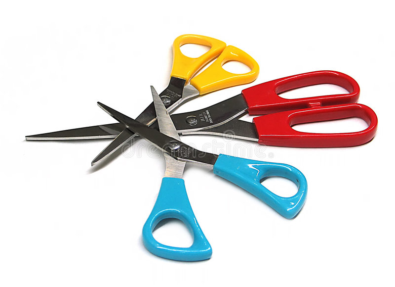 scissors brevpapper arkivbilder