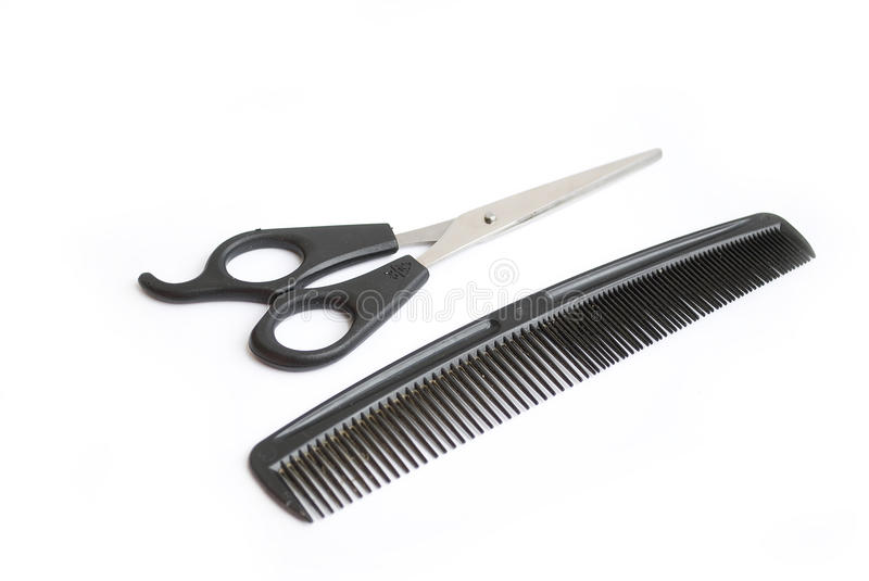 Download Scissors and comb stock photo. Image of beauty, hairstylist - 19072762