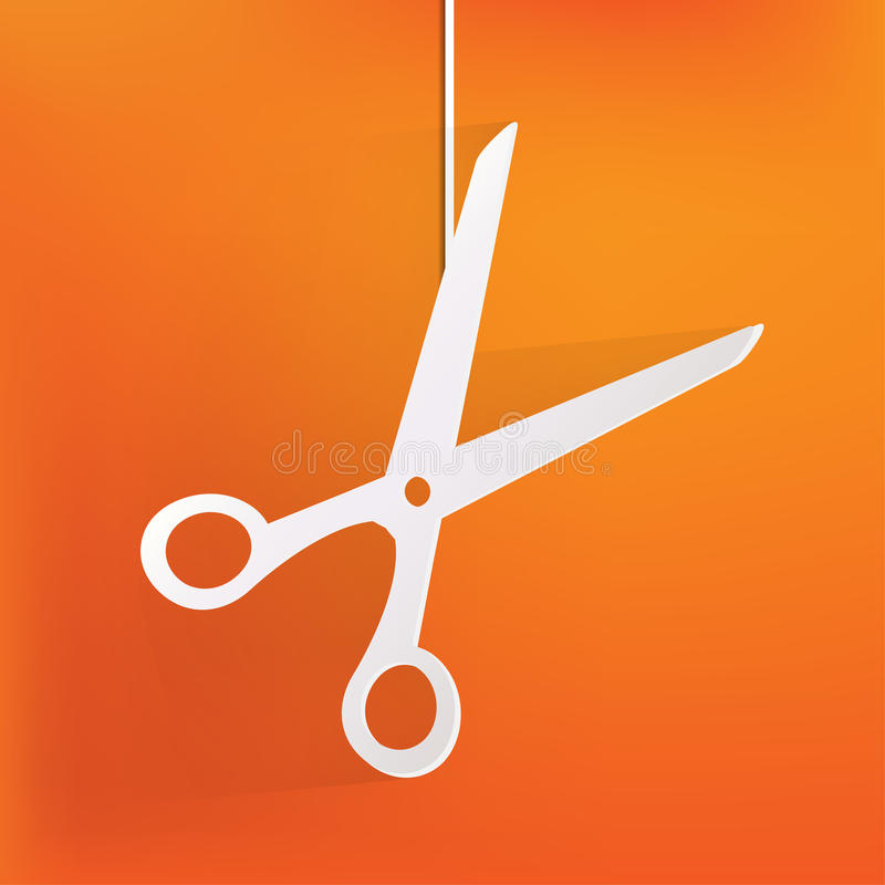 Scissors el icono libre illustration