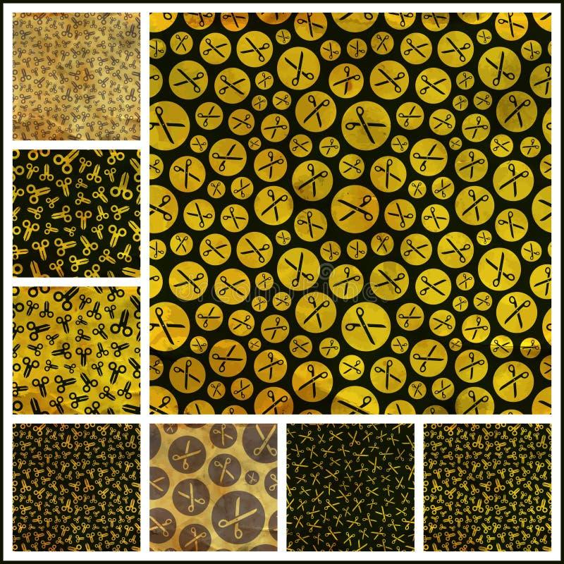 Download Scissors. Seamless Pattern. Stock Vector - Image: 34615371