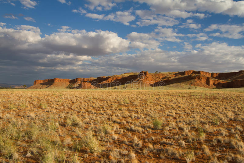 Scogliera scenica in Namibia fotografia stock libera da diritti