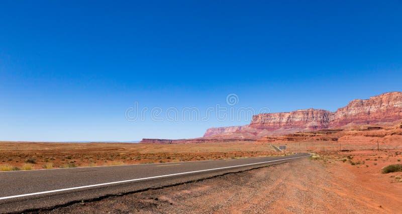 Scogliere del vermiglio di stordimento in Arizona fotografia stock