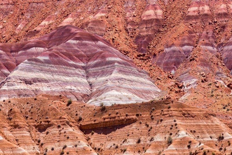 Scogliere del vermiglio vicino a Paria Utah fotografia stock