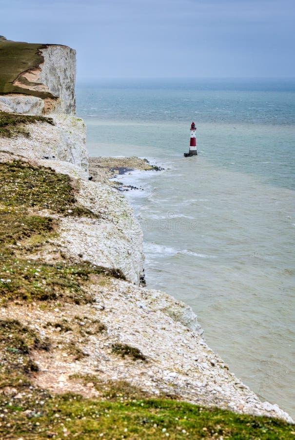 Scogliere della spiaggia. Bello paesaggio in estate. immagine stock libera da diritti