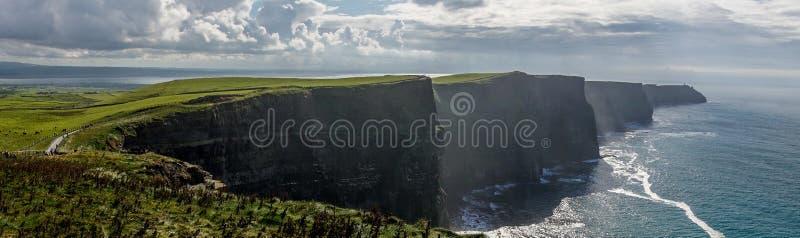 Scogliere di Moher in Irlanda immagine stock