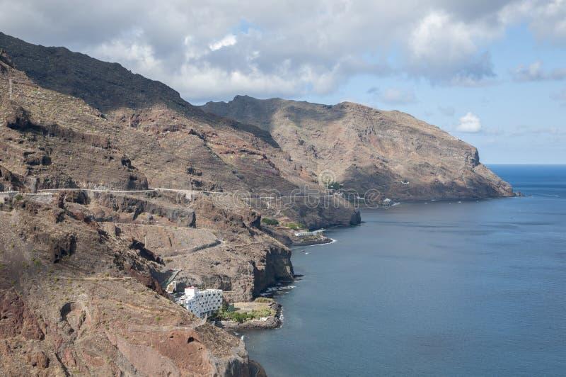Scogliere di Tenerife fotografia stock libera da diritti