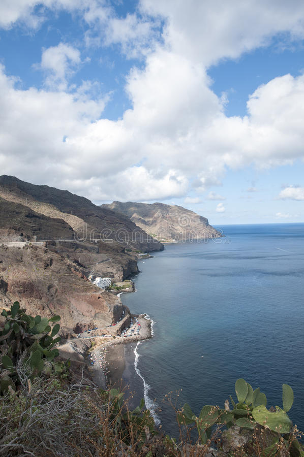 Scogliere di Tenerife immagini stock