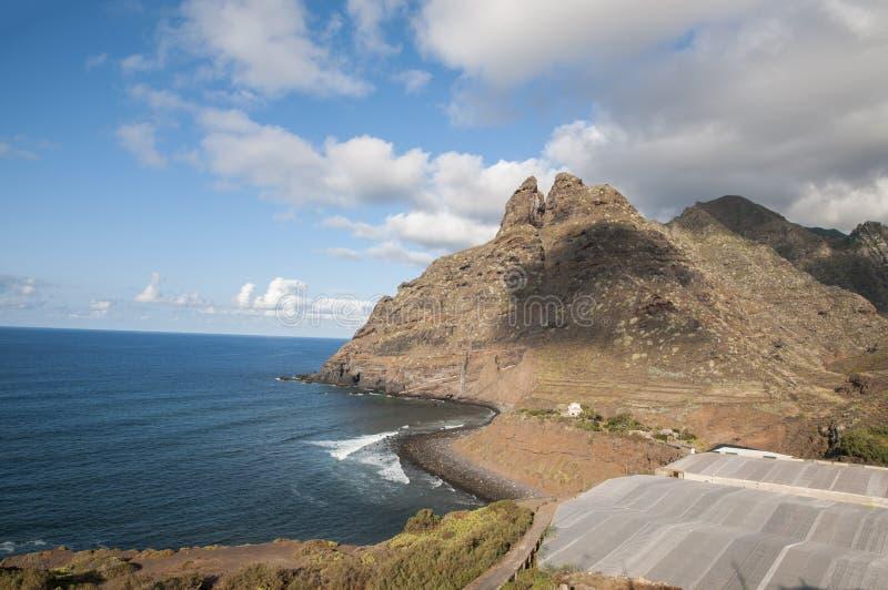Scogliere di Tenerife fotografie stock libere da diritti