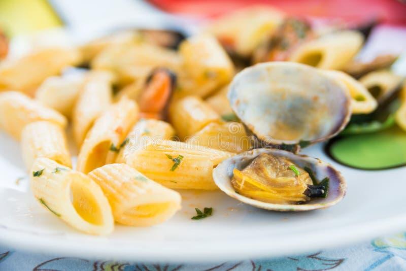 Scoglio της Penne allo, ιταλικά τρόφιμα στοκ εικόνες