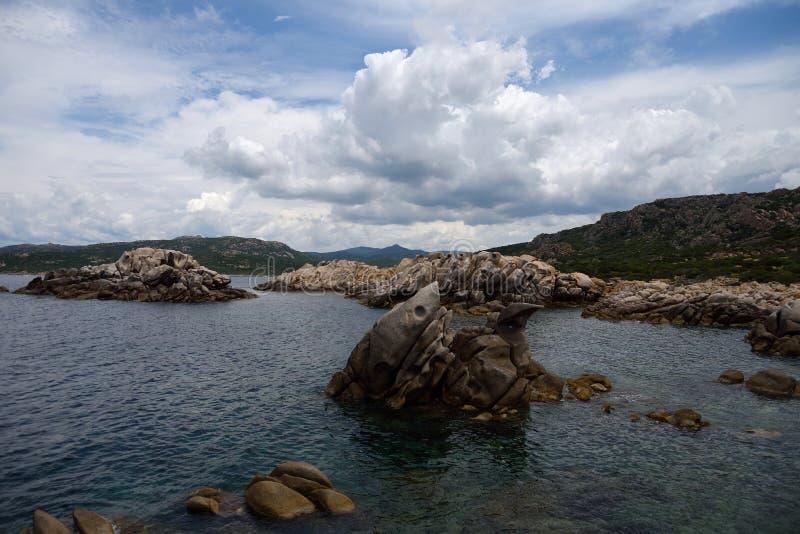 Scoglio Bianco zatoczka zdjęcia stock