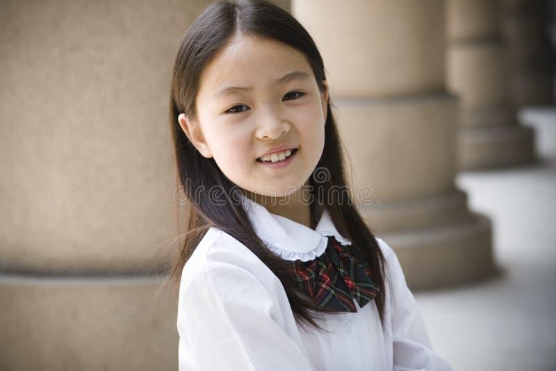 scolara elementare fotografia stock