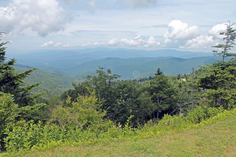 Scolpito si rannuvola il parco nazionale di Great Smoky Mountains fotografia stock