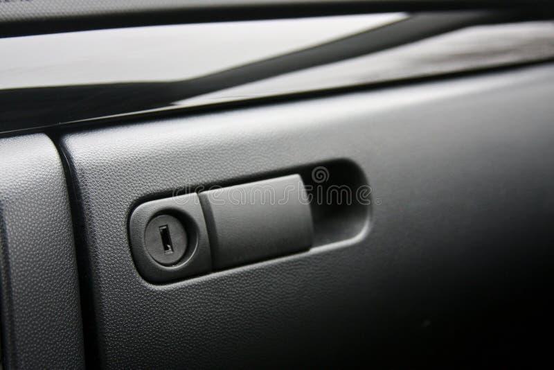 Scompartimento di guanto del veicolo fotografie stock