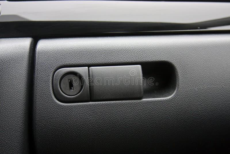 Scompartimento di guanto del veicolo fotografia stock
