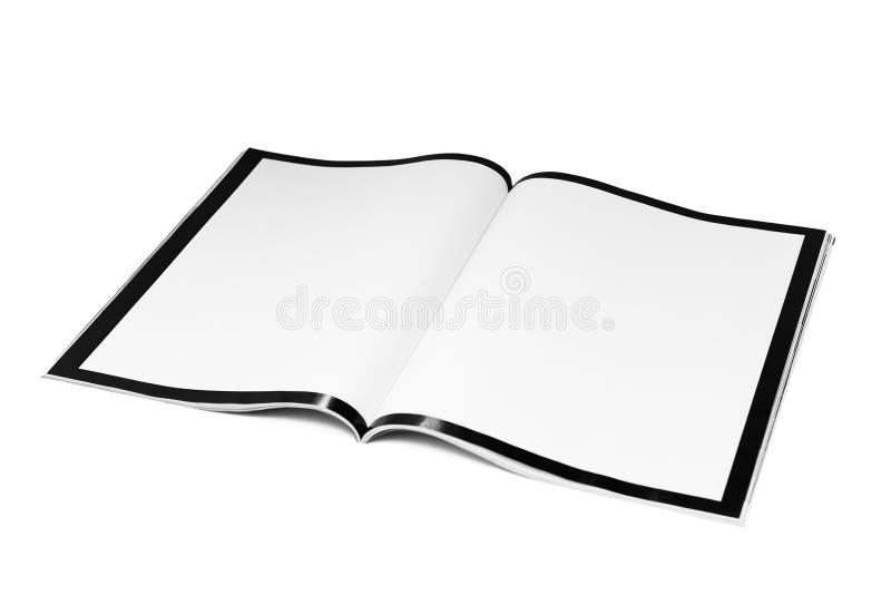 Scomparto in bianco fotografie stock