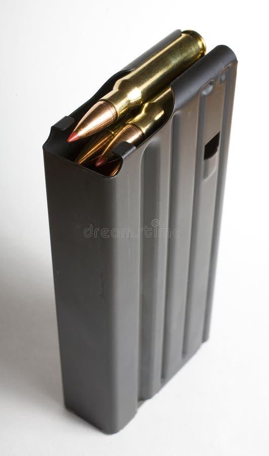 Scomparto che tiene le munizioni immagini stock libere da diritti