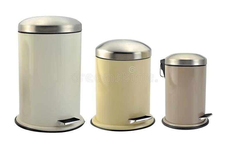 Scomparto dei rifiuti fotografia stock