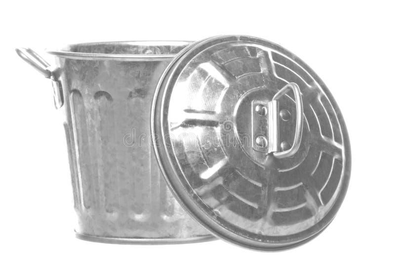 Scomparto del metallo isolato fotografia stock libera da diritti