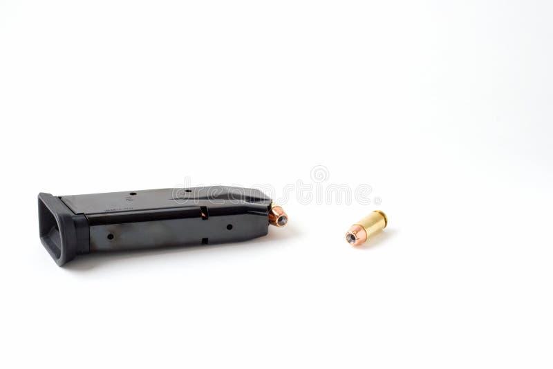 Scomparto della pistola della mano immagini stock libere da diritti