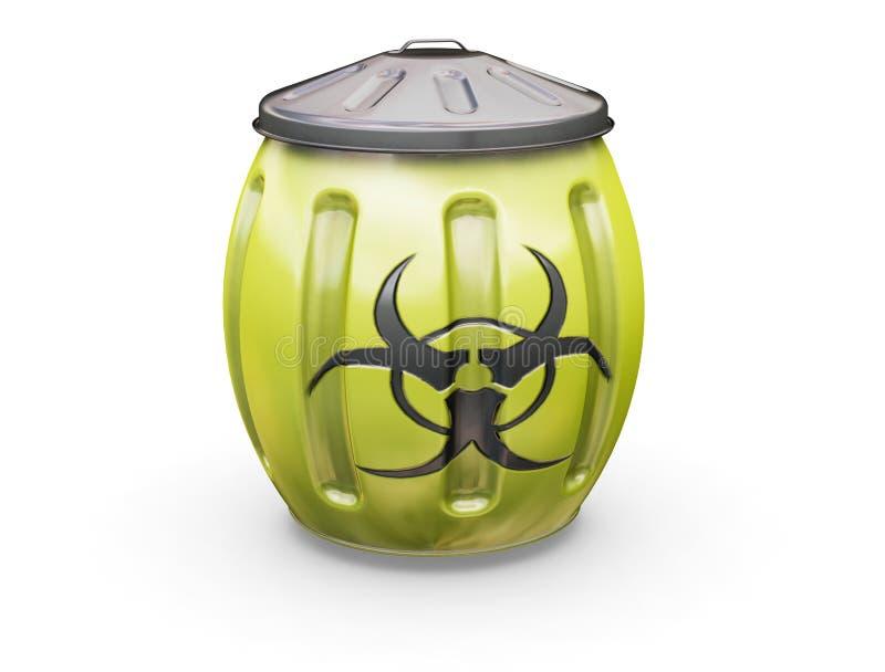 Scomparto di Biohazard illustrazione di stock