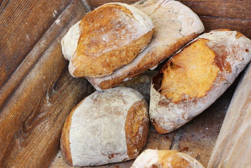 Scomparto di pane francese tradizionale fotografie stock libere da diritti
