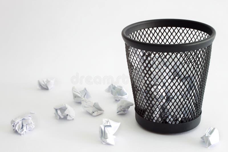 Scomparto di rifiuti immagine stock libera da diritti