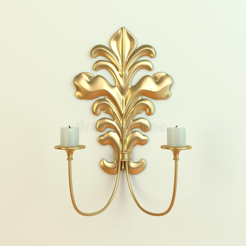 Sconce royalty free stock images