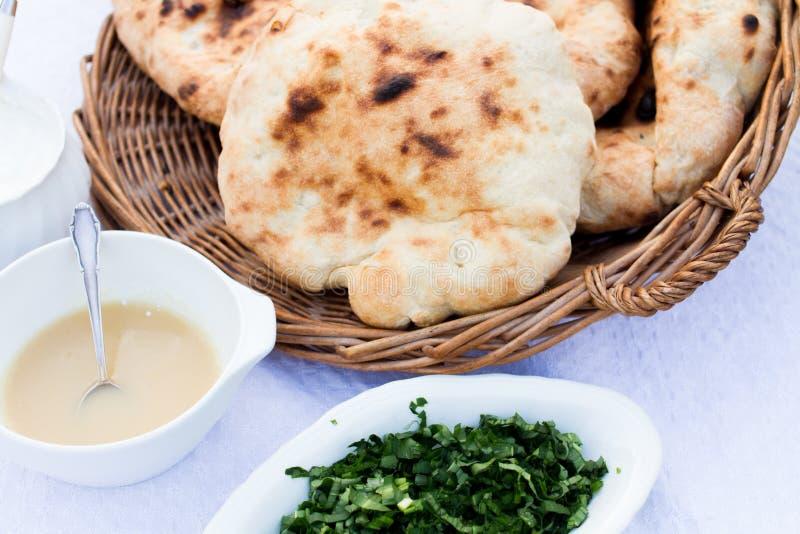 Scone хлеба, традиционная венгерская еда стоковые фотографии rf