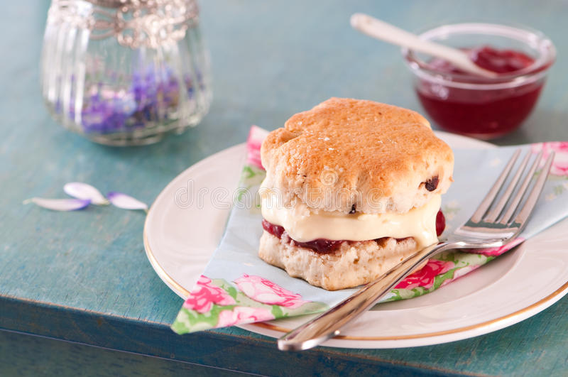 Scone fotografie stock