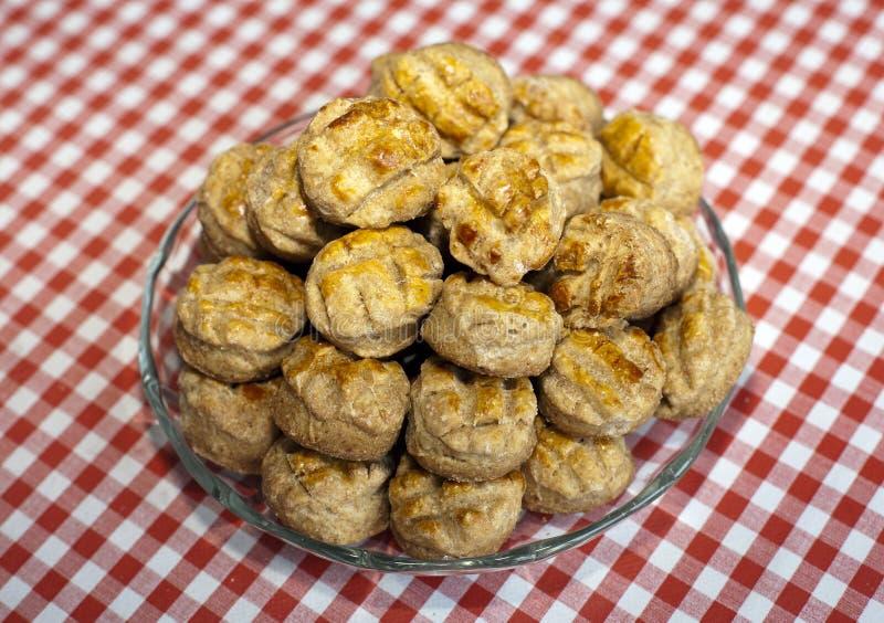 scones Świeżo piec tradycyjny hungarian cheesecake pogacsa zdjęcie royalty free