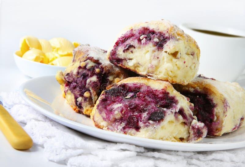 scones ягоды стоковое фото