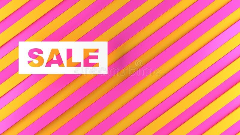 Sconti e vendite per i negozi e le merci fotografia stock