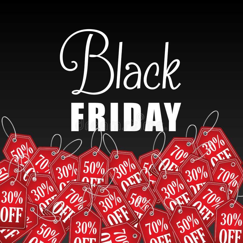 Sconti, offerte e promozioni neri di venerdì royalty illustrazione gratis