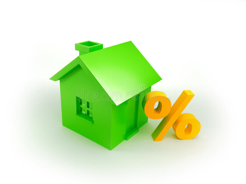 Sconto immobiliare illustrazione di stock