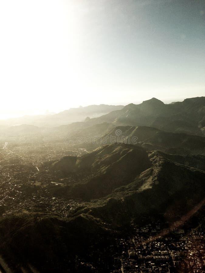 Scontro della montagna immagini stock libere da diritti