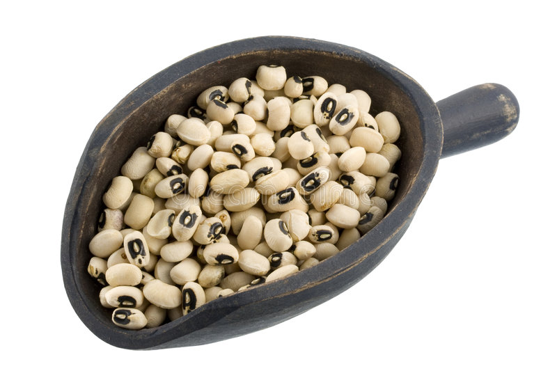 Download Scoop Of Black Eyed Peas Royalty Free Stock Photos - Image: 6505398