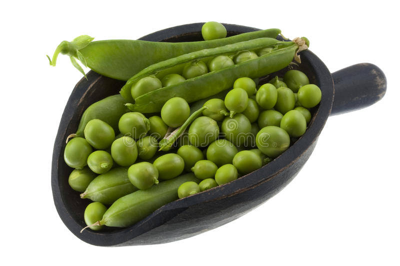 Download Scoop of green pea stock photo. Image of space, green - 10010118