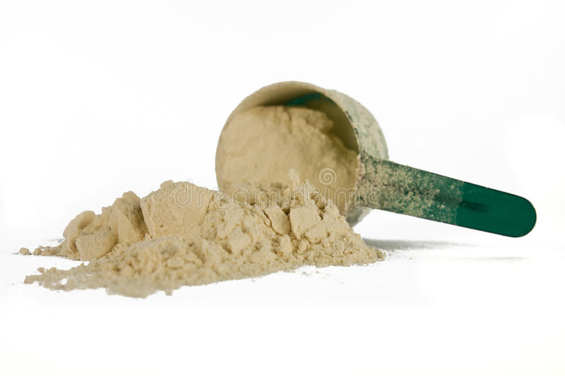 Scoop of protein royalty free stock photos