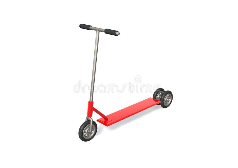 Scooter illustration stock