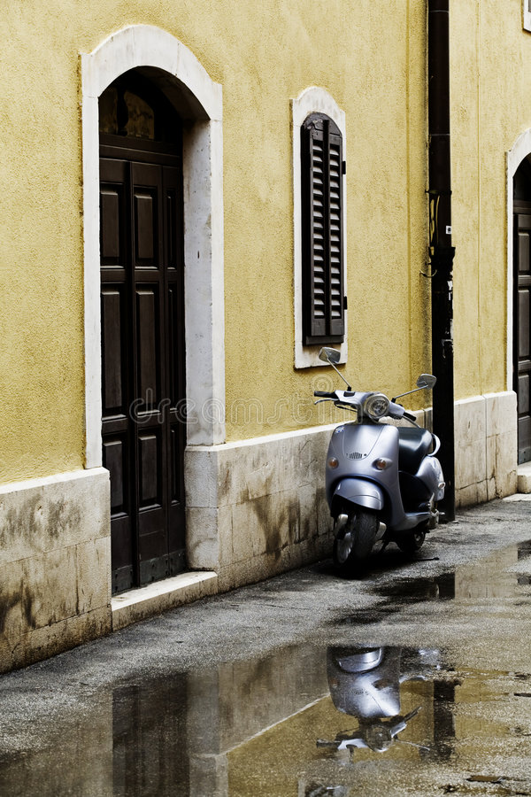 Scooter royalty free stock photos