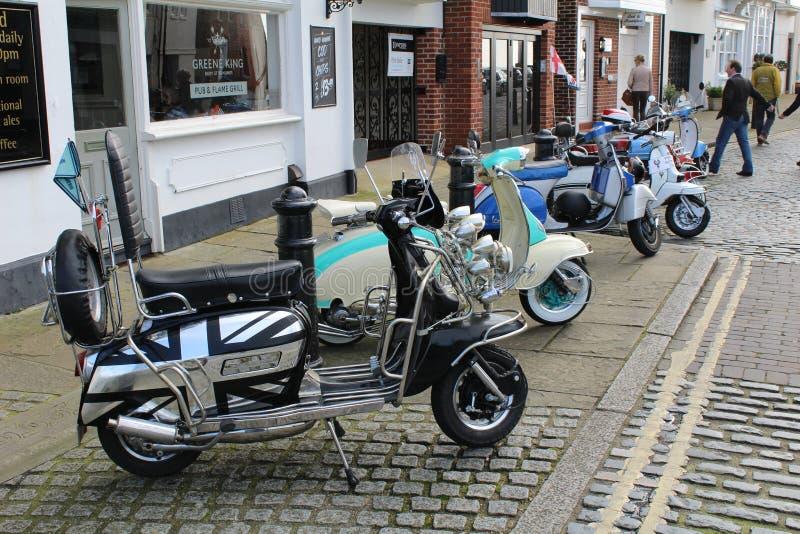 scooter lizenzfreie stockbilder