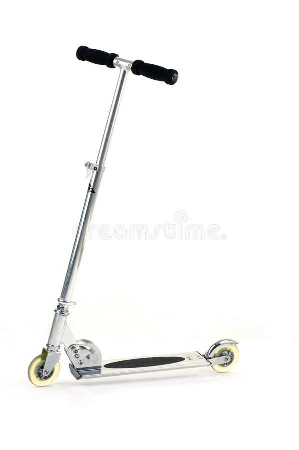 Scooter. Isolated on white background royalty free stock image