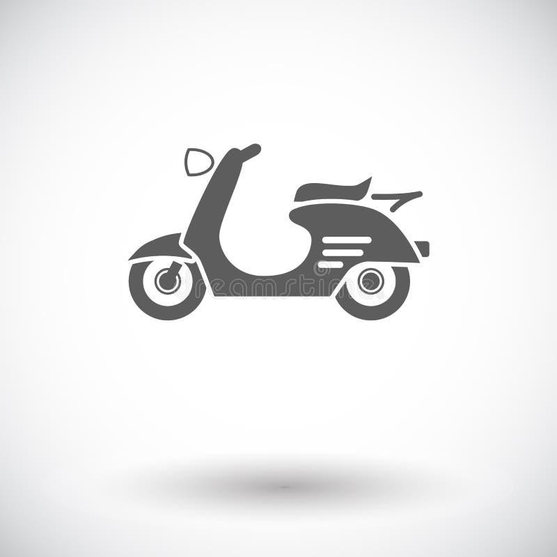 scooter illustration de vecteur