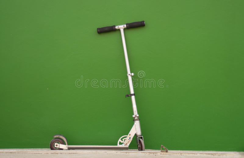 Scooter bick royalty free stock photo